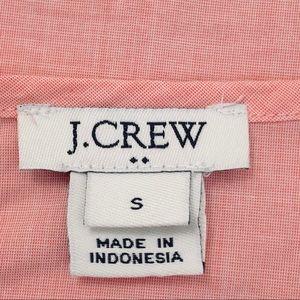J. Crew Factory Tops - NWOT J. Crew Ruffle Tie Sleeves Pink Blouse Sz S